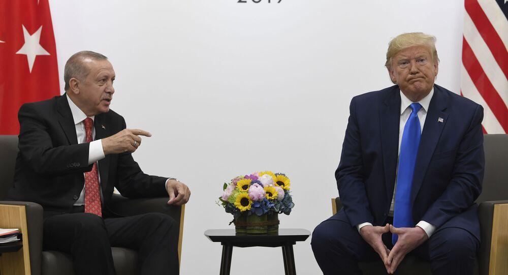 Presidente Erdogan y Trump