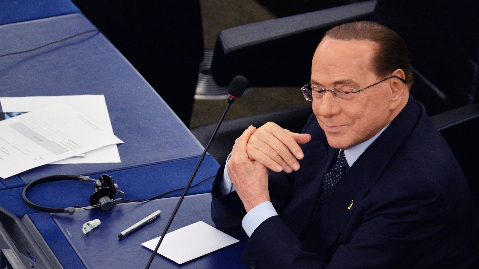 Silvio Berlusconi, ex primer ministro de Italia y presidente del partido Forza Italia - Sputnik Mundo, 1920, 07.04.2021
