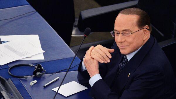 Silvio Berlusconi, ex primer ministro de Italia y presidente del partido Forza Italia - Sputnik Mundo