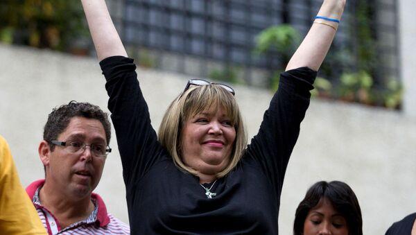 María Afiuni, la jueza detenida desde 2009 en Venezuela - Sputnik Mundo