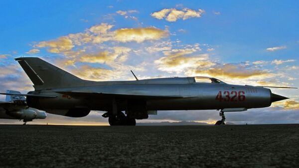 Los ases son los pilotos que abatieron a cinco enemigos o más. En la foto: un MiG-21 que abatió a 13 cazas enemigos en Vietnam.  - Sputnik Mundo