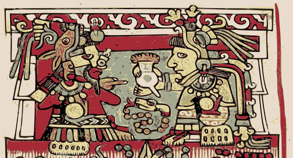 Un dibujo azteca