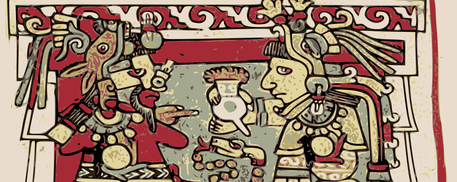 Un dibujo azteca - Sputnik Mundo, 1920, 12.08.2021