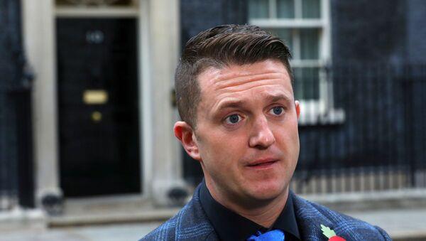 Tommy Robinson, activista ultranacionalista británico - Sputnik Mundo