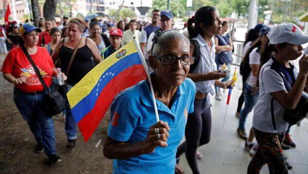 Movilización a favor del presidente venezolano, Nicolás Maduro - Sputnik Mundo
