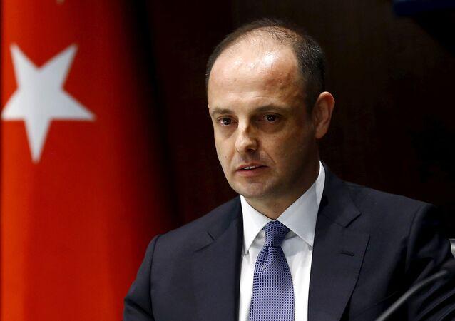 Murat Cetinkaya, gobernador del Banco Central de Turquía