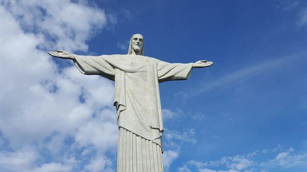 La estatua del Cristo Redentor, Río de Janeiro, Brasil - Sputnik Mundo