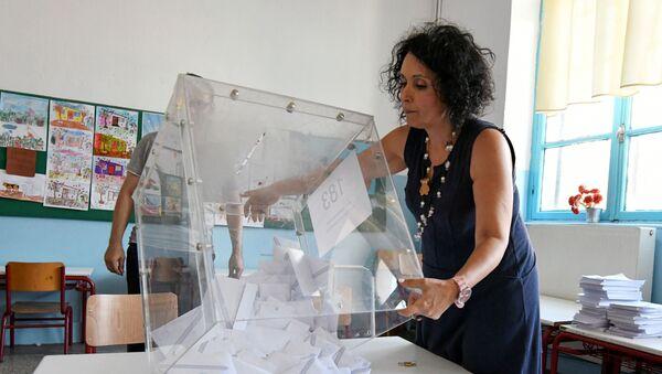 Elecciones parlamentarias en Grecia - Sputnik Mundo