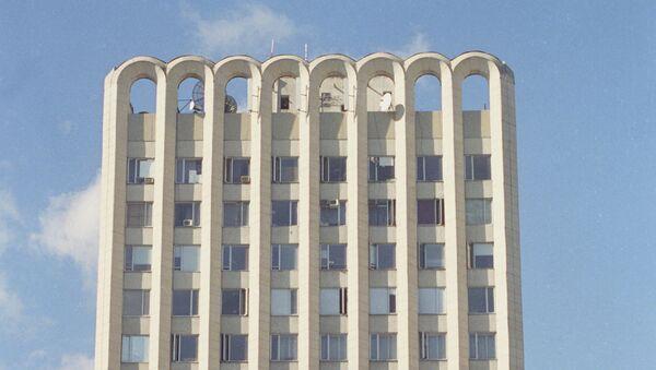La sede de la televisión georgiana Rustavi 2 (Archivo) - Sputnik Mundo