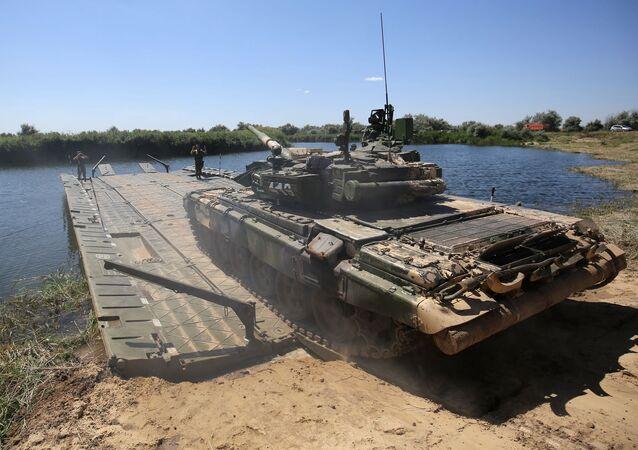 El tanque T-90A