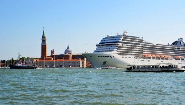 Un crucero en Venecia (archivo) - Sputnik Mundo