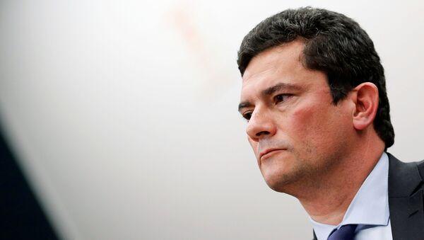 Sérgio Moro, ministro de Justicia del Gobierno brasileño - Sputnik Mundo
