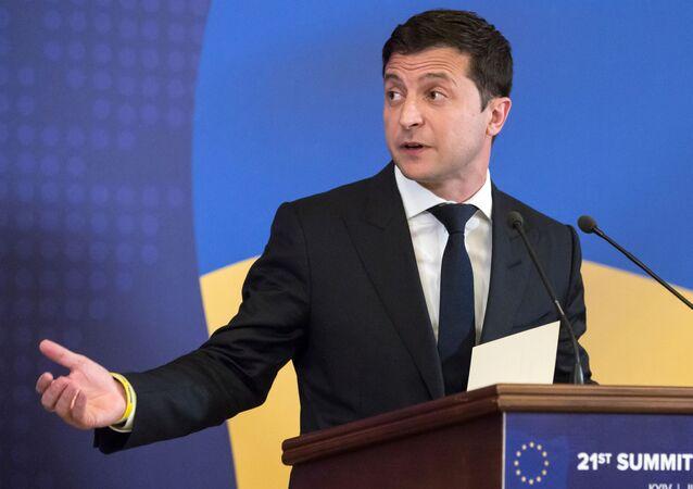 Volodímir Zelenski, presidente de Ucrania (archivo)