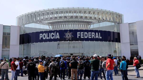 Sede de la Policía Federal en la Ciudad de México  - Sputnik Mundo