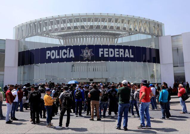 Sede de la Policía Federal en la Ciudad de México