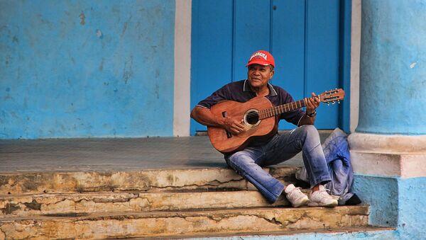 Trovador en las calles de Cuba - Sputnik Mundo