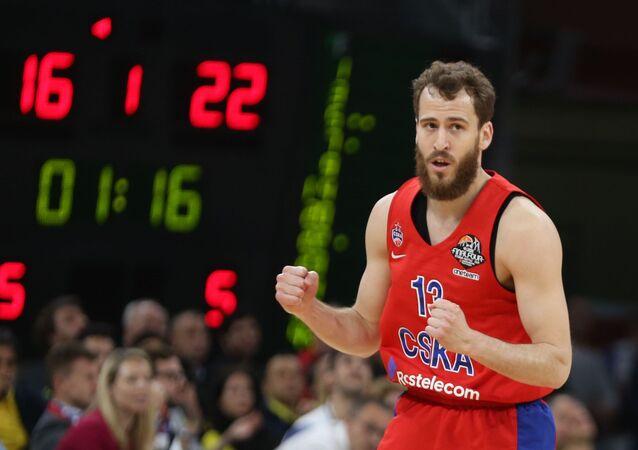 Sergio Rodríguez Gómez, base español del CSKA de Moscú