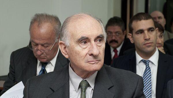 Fernando de la Rúa, expresidente de Argentina (archivo) - Sputnik Mundo