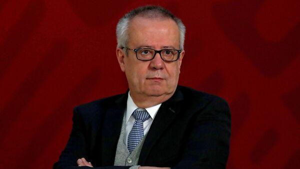 Carlos Urzúa, el exsecretario de Hacienda de México (archivo) - Sputnik Mundo