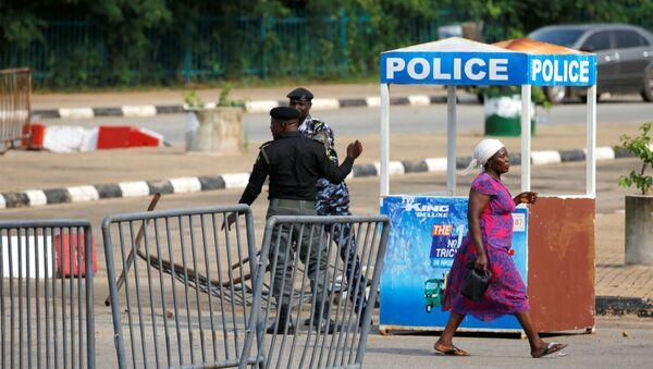 Situación cerca del Parlamento de Nigeria  - Sputnik Mundo