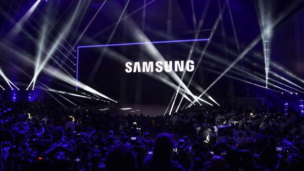 Un evento de Samsung (archivo) - Sputnik Mundo