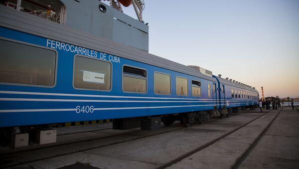 Los coches chinos que van a modernizar el ferrocarril cubano - Sputnik Mundo