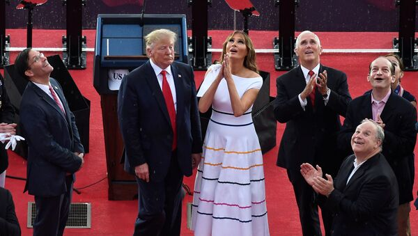 La primera dama estadounidense, Melania Trump - Sputnik Mundo