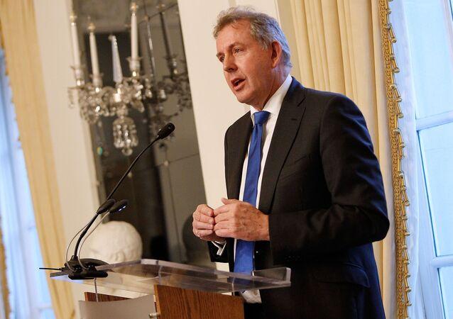 Kim Darroch, el embajador británico en EEUU
