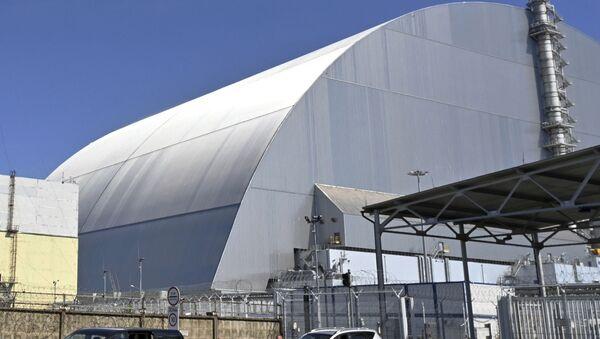 Construcción del nuevo sarcófago de la Central Nuclear de Chernóbil - Sputnik Mundo