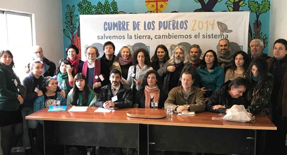 Lanzamiento de la Cumbre de los Pueblos 2019