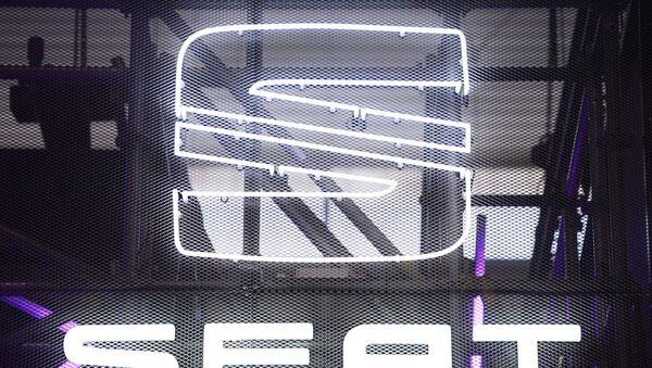 Logo de Seat - Sputnik Mundo
