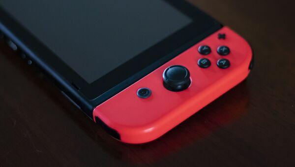 La consola Nintendo Switch, foto de archivo - Sputnik Mundo