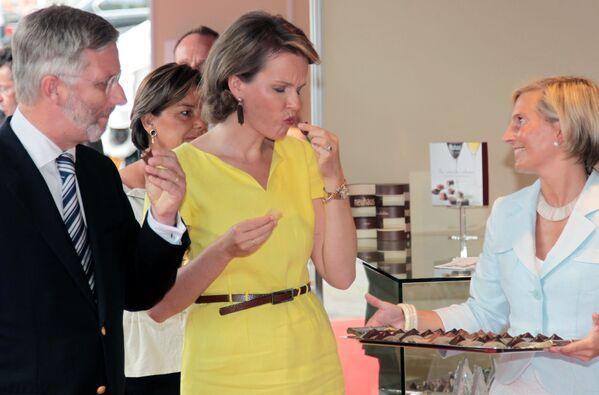Los golosos más famosos: políticos y celebridades también se rinden ante el chocolate - Sputnik Mundo