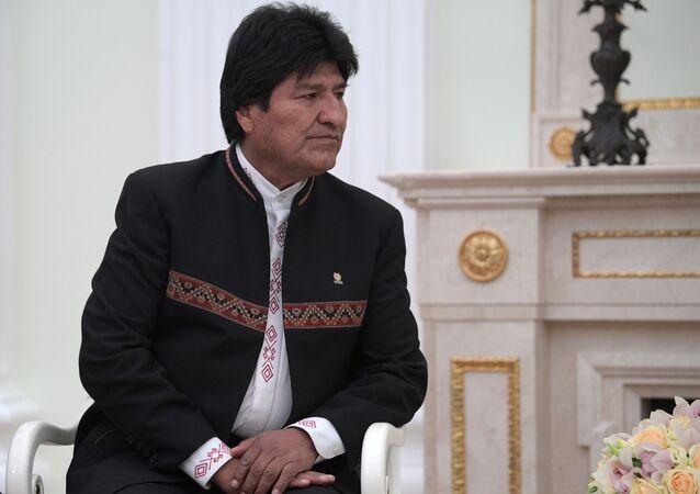 Evo Morales, expresidente boliviano (archivo)