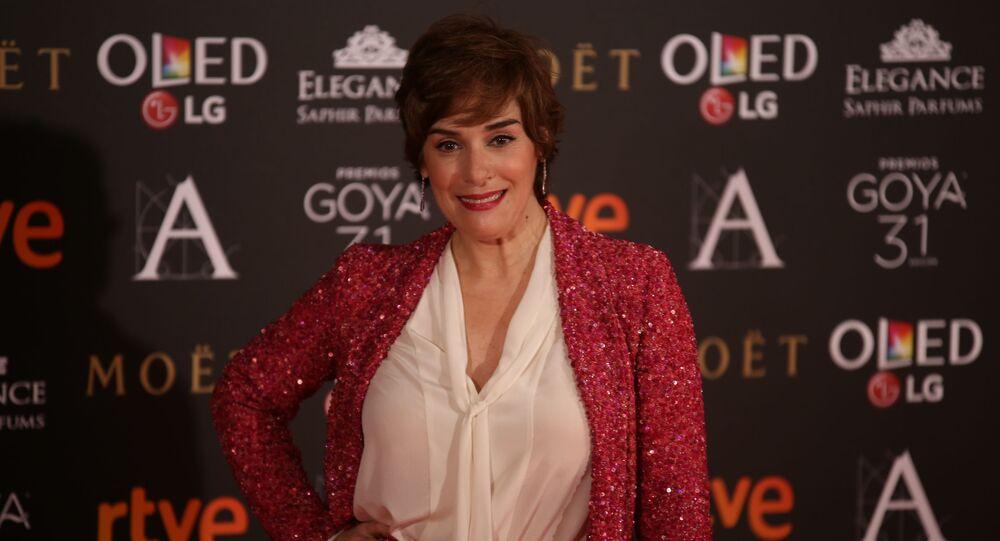 Anabel Alonso, presentadora y actriz española