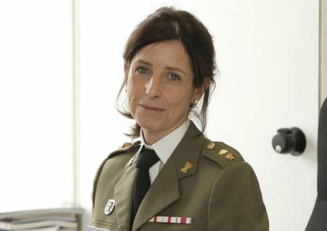 Patricia Ortega García, la primera mujer general de España