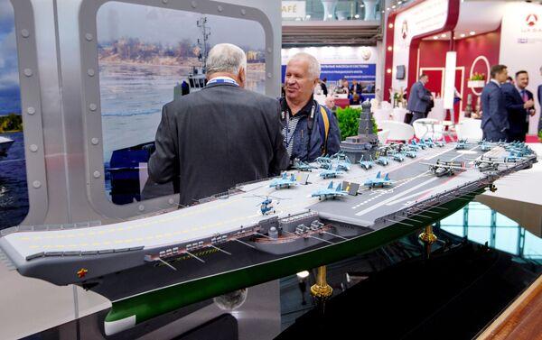 Proyecto del portaviones ruso Lamantin - Sputnik Mundo