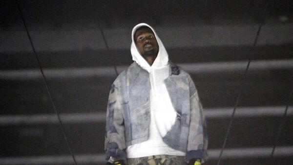 Kanye West, rapero estadounidense - Sputnik Mundo