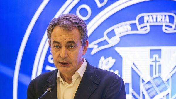 Expresidente del Gobierno español José Luis Rodríguez Zapatero - Sputnik Mundo