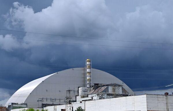 Así es el nuevo sarcófago de la central nuclear de Chernóbil - Sputnik Mundo