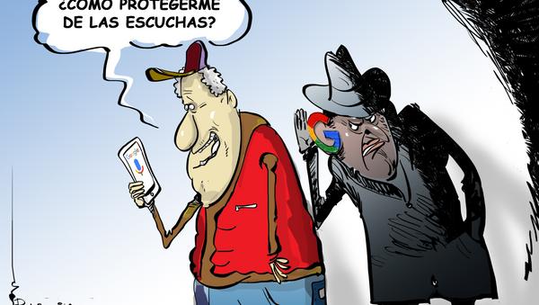 OK Google, ¡deja de espiarme! - Sputnik Mundo