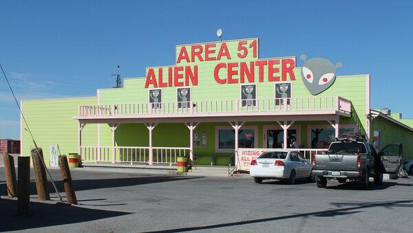 El Centro de Extraterrestres del Área 51 - Sputnik Mundo