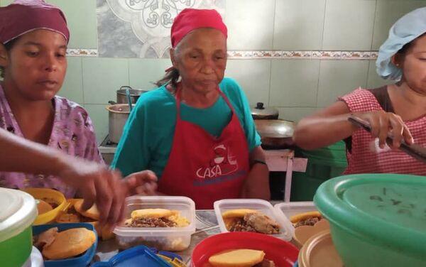 Casa de Alimentación en Caracas, Venezuela - Sputnik Mundo