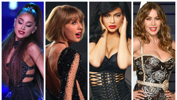 Ariana Grande, Taylor Swift, Kylie Jenner y Sofía Vergara - Sputnik Mundo