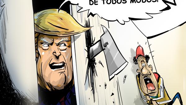 ¡No voy a hacerte daño! La obsesión de Trump con la ciudadanía de los migrantes - Sputnik Mundo