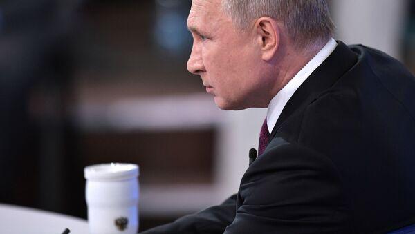 El presidente ruso Vladímir Putin  - Sputnik Mundo