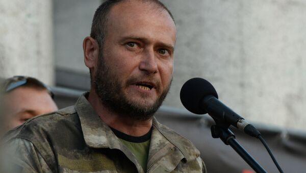 Dmitri Yarosh, líder ultranacionalista ucraniano - Sputnik Mundo