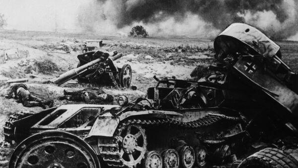 La batalla de Kursk, el equipo alemán destrozado - Sputnik Mundo
