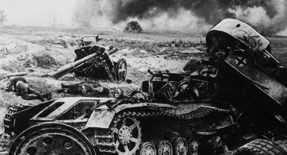 La batalla de Kursk, el equipo alemán destrozado