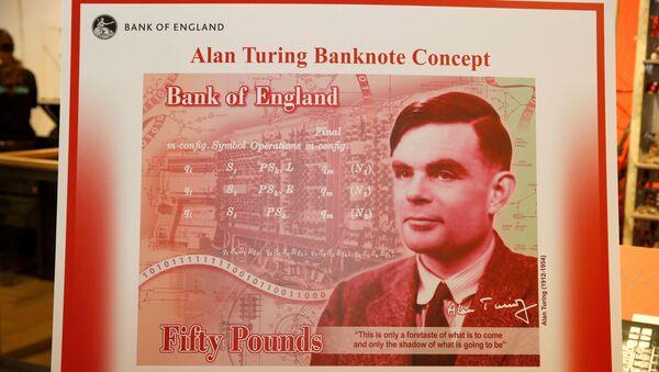 El nuevo billetes de 50 libras esterlinas - Sputnik Mundo